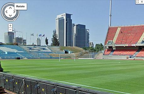 גוגל סטריט ויו streetview איצטדיון רמת גן