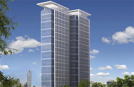 הדמיה של מגדל רסיטל ב תל אביב , הדמיה: VIEWPOINT