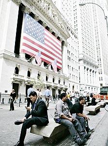 הבורסה בוול סטריט