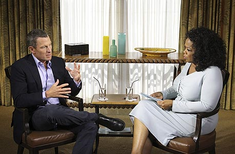 הראיון עם לאנס ארמסטרונג, צילום: רויטרס