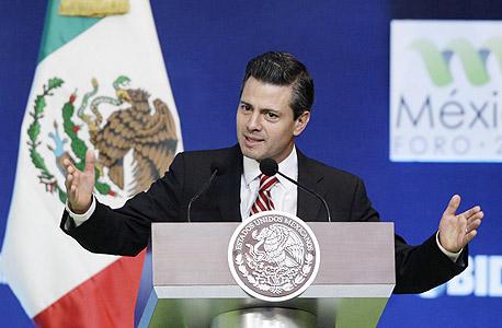 נשיא מקסיקו אנריקה פניה נייטו. נדרש לתת רישיון להרוג