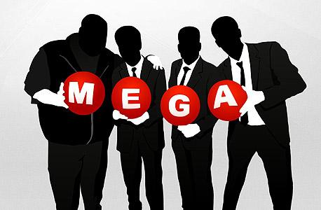 מגה MEGA קים דוטקום שיתוף קבצים