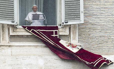 """""""לאפיפיור היתה כהונה קשה מאוד מבחינה פיננסית"""""""