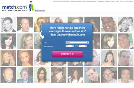 אתר match.com, צילום מסך: uk.match.com