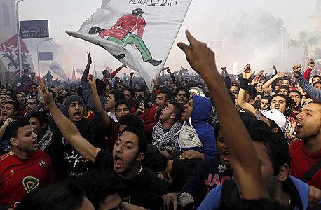 ההפיכה במצרים - מסמלי האביב הערבי