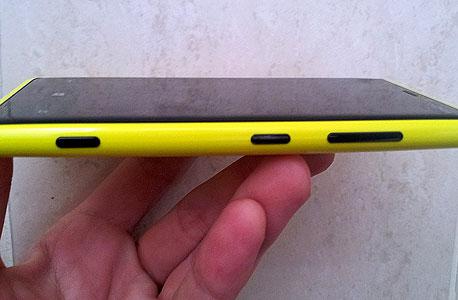 מיקום כפתורים מצוין. Lumia 920