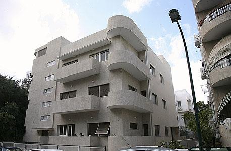 בנין באוהאוס בתל אביב המיועד לשימור