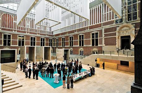אמסטרדם. חגיגות 160 שנה להולדת ואן גוך ופתיחתו של  ה־Rijksmuseum (בתמונה) בתום שיפוץ בן עשר שנים, צילום: אי פי איי
