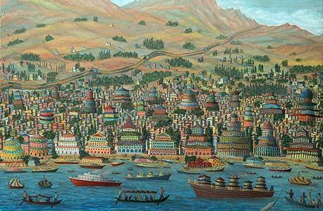 """""""החומה הסינית"""" של גבריאל כהן. """"העבודה האהובה עליי"""""""