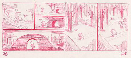blog.drawn.ca אנימציה, קומיקס ואיור. בתמונה: מתוך הספר Bluebird