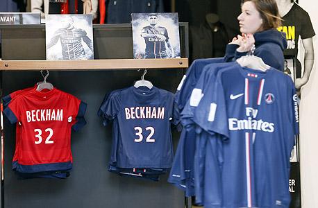 """הישג של כוכב: החולצות של בקהאם נמכרו במיליארד ליש""""ט"""