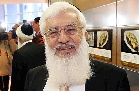 """רפאל פנחסי שר לשעבר מטעם ש""""ס, צילום: שאול גולן"""