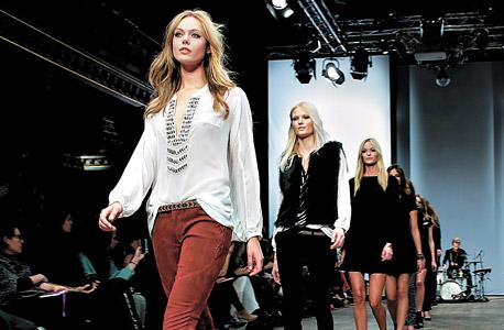 תצוגה של Hunkydory בשבוע האופנה בשטוקהולם, צילום: אימג