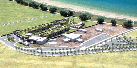 הדמיה של מלון קבוצת ארק ניו גייט, מאת משרד האדריכלים מתי אבשלומוב