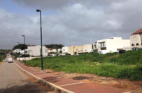 הקרקע בהוד השרון שעברה שינוי מייעוד חקלאי למגורים