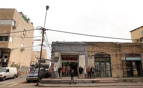השטח המיועד לבנייה ברחוב אילת 56, תל אביב