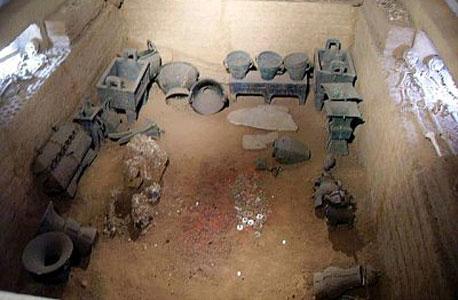 העיר יין-שאו. משמשת כיום כאתר ארכיאולוגי מרכזי
