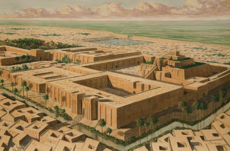 """העיר אור. ננטשה לאחר שנת 500 לפנה""""ס"""