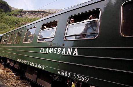 הרכבת בקו פלאם. נורבגיה על קצה המזלג