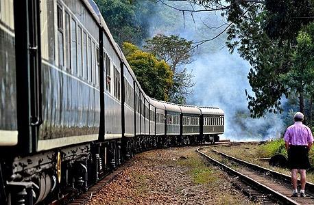 הרכבת רובוס. עמוק בתוך שמורות הטבע של דרום אפריקה