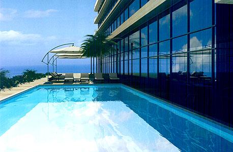 מלון הטראסות (שם זמני) בנתניה