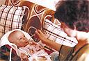 אמסטרדמסקי ואימו בקיץ 1980