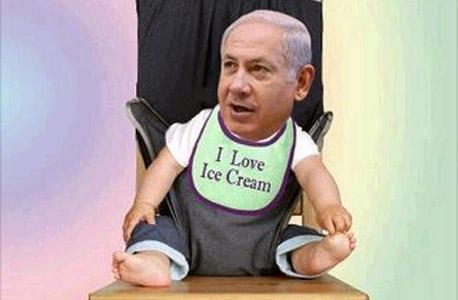 נתניהו ביקש וקיבל הקצבה של 10,000 שקל בשנה מתקציב המדינה על גלידה למעונו