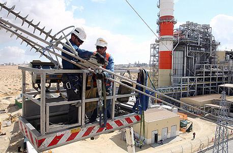 עובדי חברת החשמל (ארכיון)