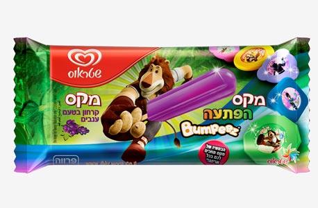 גלידה שטראוס מקס האריה