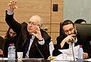 משה גפני מנואל טרכטנברג, צילום: מיקי אלון