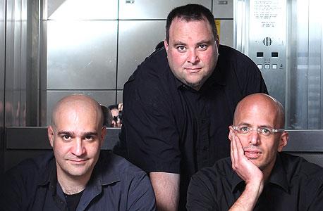 מייסדי שיין (מימין): פראג', פורת ובלייר־גת