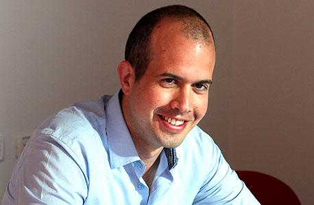 """עידן טנדלר, מנכ""""ל ומייסד החברה, צילום: עמית שעל"""