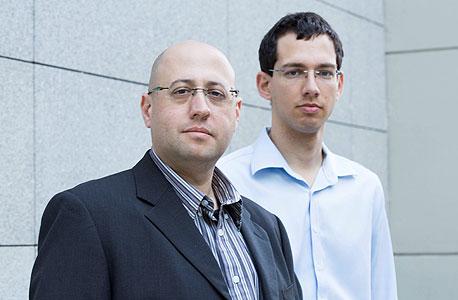 מייסדי קומיליון גיא ורטהיים (מימין) וקובי פרידמן