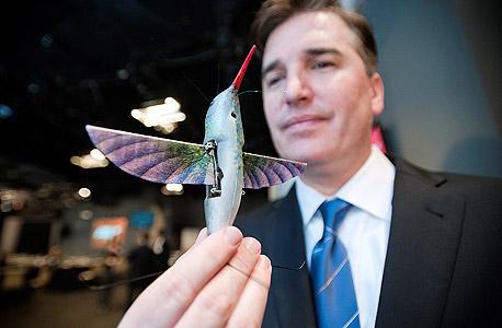 """המרגל המעופף הבא של צבא ארה""""ב Hummingbird Nano"""
