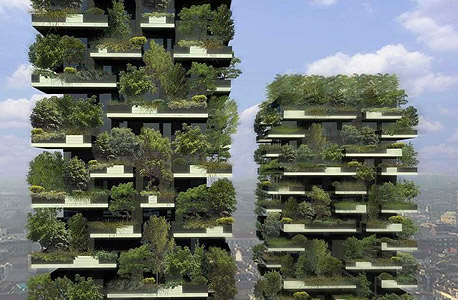 מגדלים צומחים: באיטליה יוקמו בניינים שישלבו עצים ושיחים