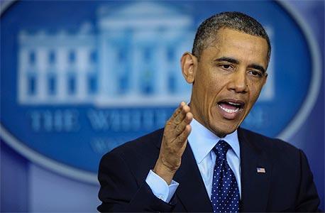 ברק אובמה קיצוץ התקציב ב קונגרס ארהב, צילום: בלומברג