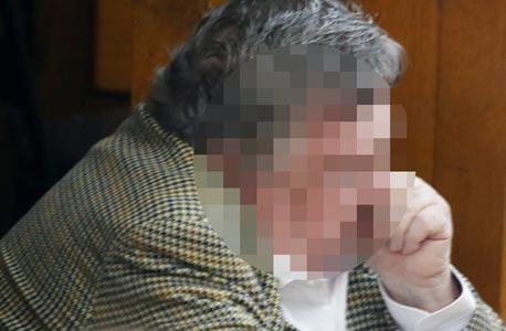 """ש""""ד עד המדינה במשפט אולמרט הולילנד, צילום: שאול גולן"""