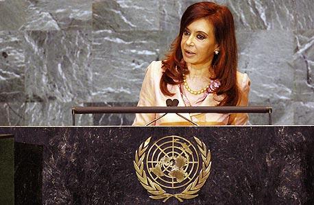 נשיאת ארגנטינה היוצאת קריסטינה קרישנר