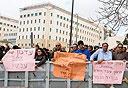 הפגנת עובדי מדינה (ארכיון), צילום: מיקי נועם אלון