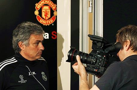 ז'וזה מוריניו מול המצלמה במנצ'סטר. מנטליות של כובש