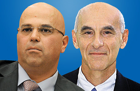 עודד שריג (מימין) ודודו זקן
