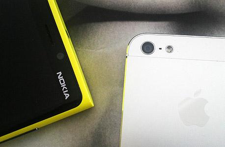 אפל נוקיה סמארטפונים, צילום: ניצן סדן
