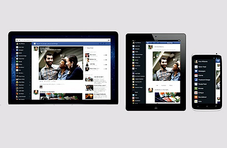 הישראלים אוהבים את פייסבוק, גם במובייל