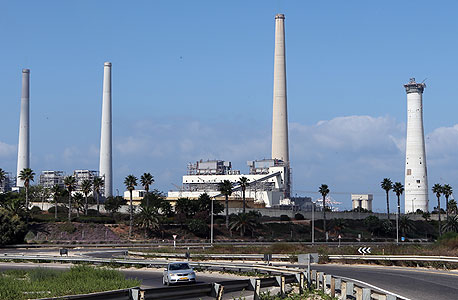 תחנת הכוח בחדרה, צילום: אלעד גרשגורן