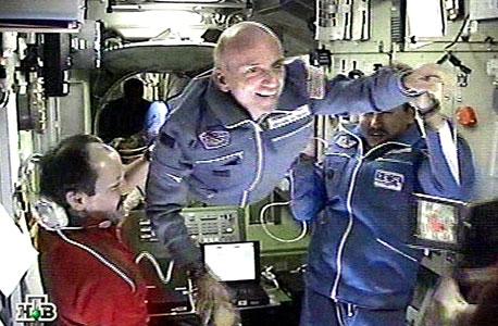 """יוזם Inspiration Mars דניס טיטו בתחנת החלל הבינלאומית. """"היעד שלי מאתגר אבל ישים"""""""