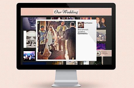 WIX וויקס האקאתון אפליקציה חתונה וודינגרם, צילום מסך: weddingram