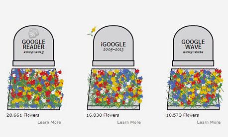 גוגל שירותים מקוונים READER בית קברות