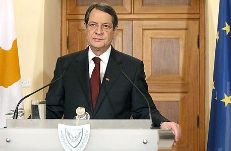 נשיא קפריסין ניקוס אנסטסיאדיס