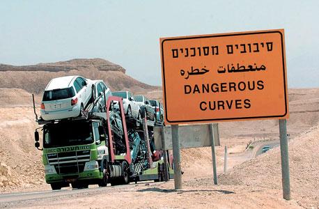 כביש הערבה. ריבוי תאונות