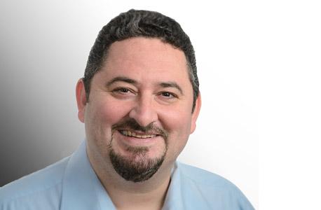 בועז פרלמן מנהל מכירות ראשי בחטיבת השירותים הארגוניים של HP, צילום: דויד גראב